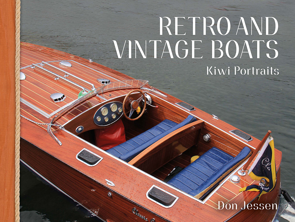 Retro and Vinatge Boats by Don Jessen