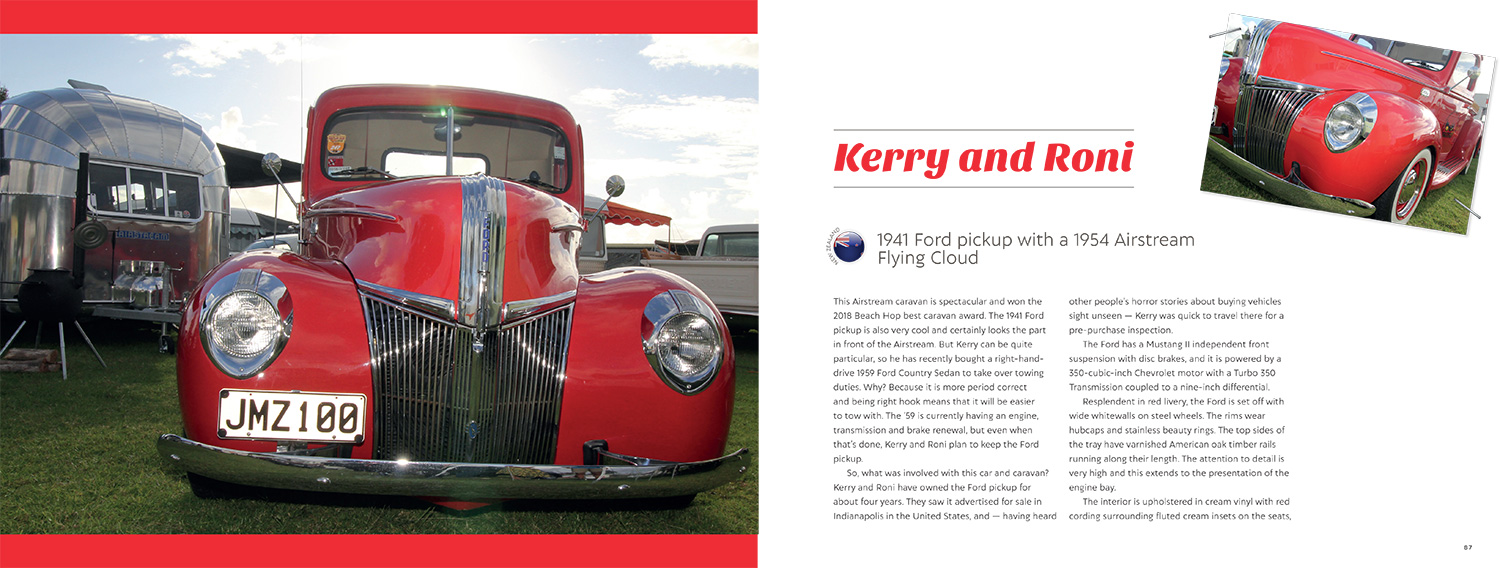 Classic Car and Caravan Combos Downunder By Don and Marilyn Jessen